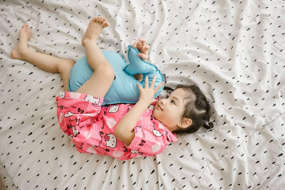 Bộ Pijama mặc nhà bé gái (Kitty Hồng)