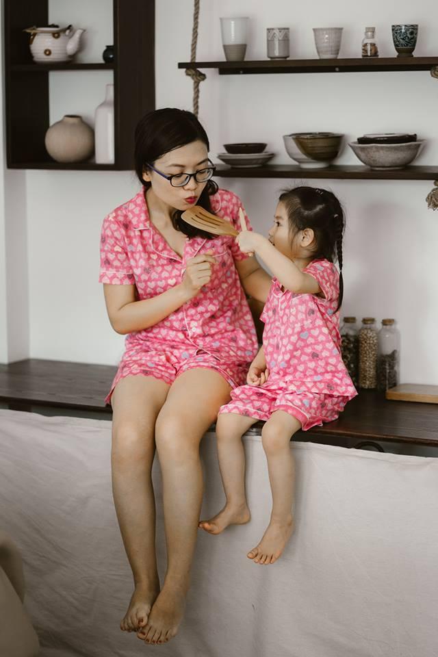 Bộ Pijama mặc nhà bé gái (NơHồng)